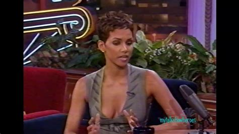 Halle Sets The Record Hollyscoop halle berry sets the record on leno