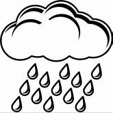 Rain Clouds Drawing | Clipart Panda - Free Clipart Images