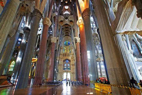 Interior Sagrada Familia by Pin Interior De La Sagrada Familia De Gaud 237 Hd On