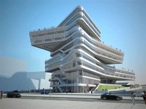 zaha hadid architecture zaha hadid architects edifici torre espiral buildipedia