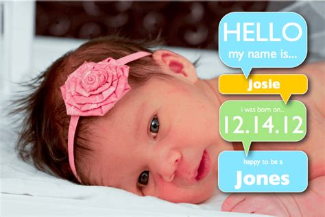 free birth announcements templates for word girl birth announcement template with word bubbles