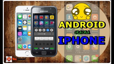 changing from android to iphone how to change android display to iphone tutorial