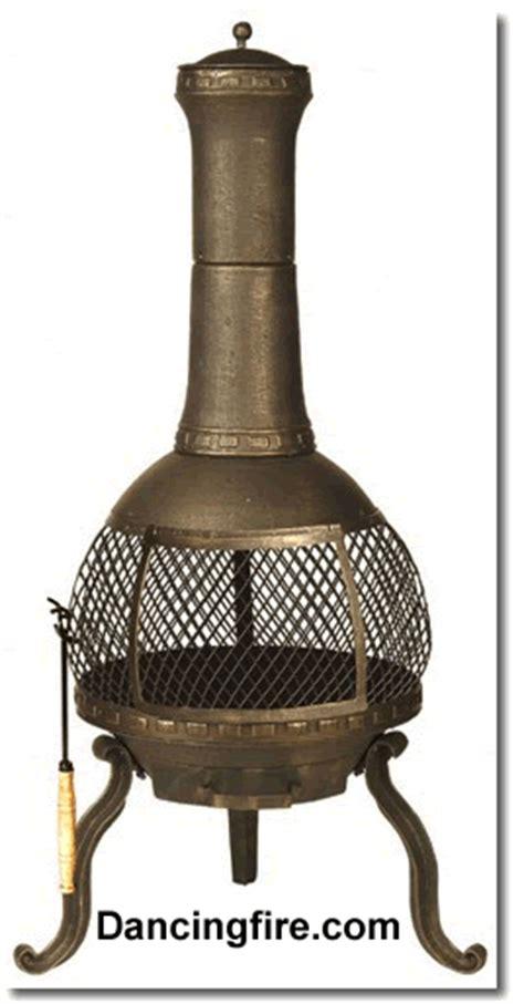 cast iron chiminea pit yukon cast iron chiminea