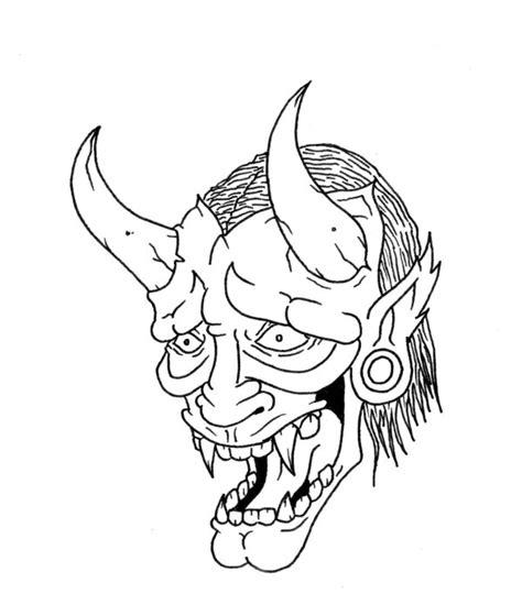hannya mask by grimmanator on deviantart