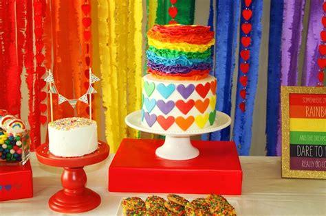 Girls Bedrooms Ideas bolinhos e cookies da festa do arco 237 ris festa infantil