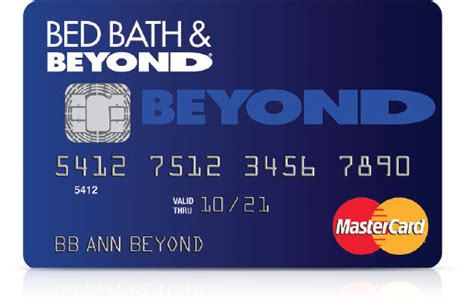 bed bath and beyond card bed bath beyond mastercard credit card