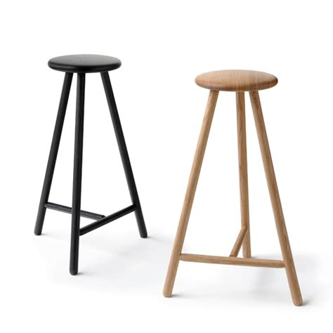 perch bar stool nikari perch bar stool 63 cm black finnish design shop