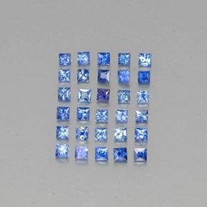 Blue Safir Sapphire 1 8ct blue sapphire 1 8ct square from madagascar gemstones