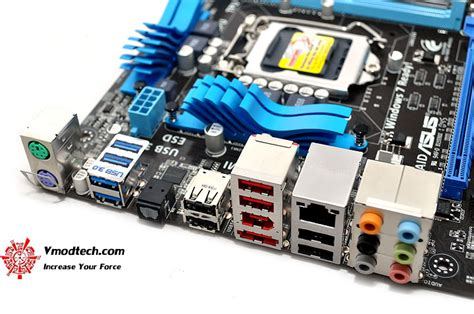 Asus P67 P8p67 M Tanpa Backpanel หน าท 3 asus p8p67 m pro micro atx p67 motherboard review vmodtech review overclock
