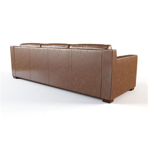 collins sofa restoration hardware restoration hardware collins leather sofa with nailheads