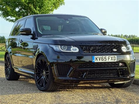 range rover svr black used 2015 land rover range rover sport svr for sale in