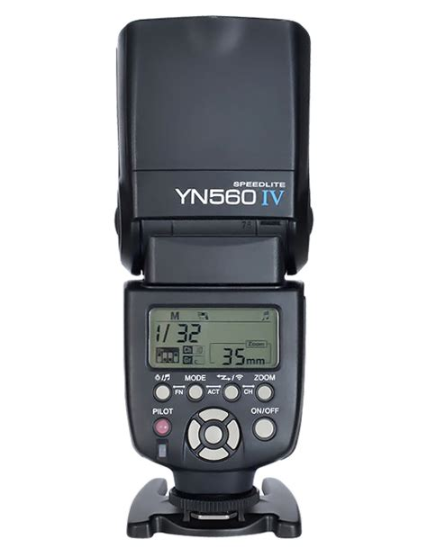 yongnuo yn560 iv flash with radio master mode now available flash havoc
