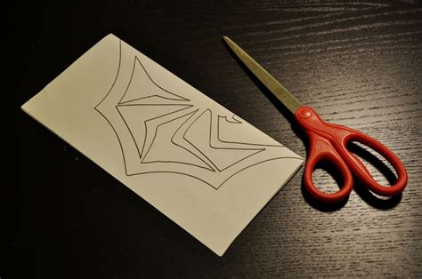 How To Make A Paper Spider - skellington s paper spider snowflake all