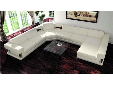 furniture best u shaped sectional with ottoman