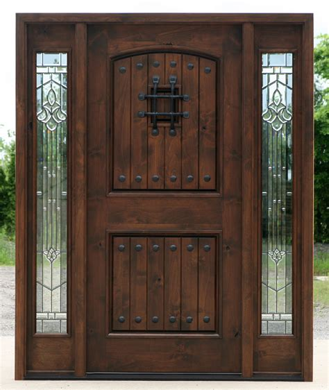 Exterior Doors Wood Wood Front Doors With Glass Memes