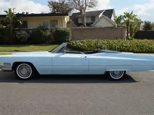 1968 Cadillac Convertible 1968 Cadillac De Ville Convertible For Sale