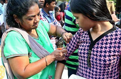 pattern dressmaker chennai tamil nadu several neet candidates cut off sleeves exchange footwear