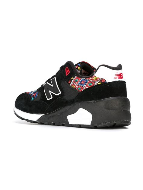 elite sneakers lyst new balance 580 elite edition sneakers in black