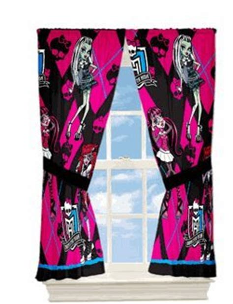 monster high bedding and curtains monster high comforter set