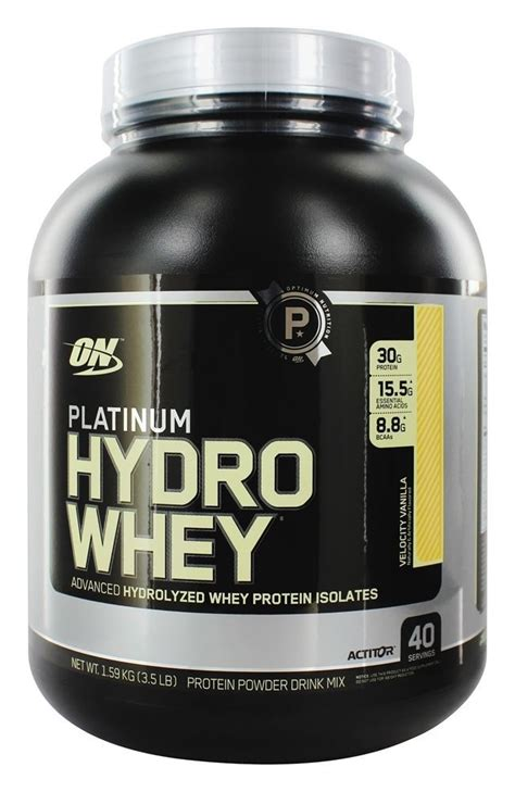 Whey Protein Hydrolyzed Object Moved