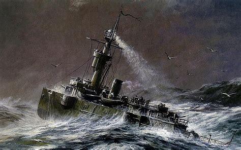 boat waves drawing painting drawing the gunboat boat gilyaks ocean waves