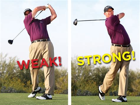 golf swing finish golf swing tips get long fly straight