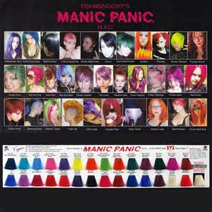 manic panic hair color chart mrm rakuten ichiba shop rakuten global market マニックパニック