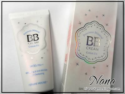 Harga Etude House Precious Mineral Bb Cotton Fit new precious mineral bb bright fit spf30