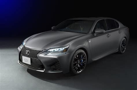 lexus rc f matte lexus rc f gs f matte grey special editions coming to