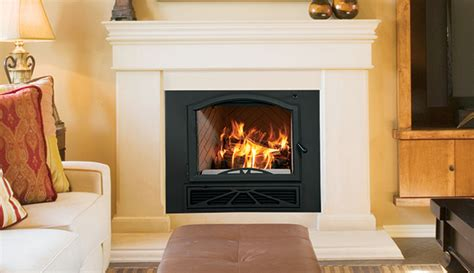 epa phase ii certified fireplace with powerful catalytic
