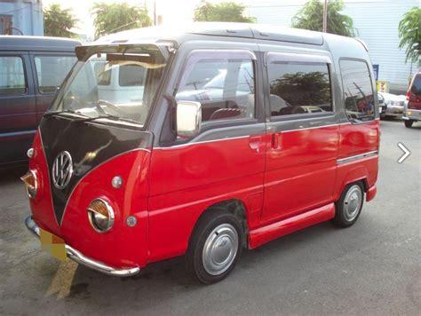 subaru pickup conversion subaru sambar conversion looks like a vw love van for