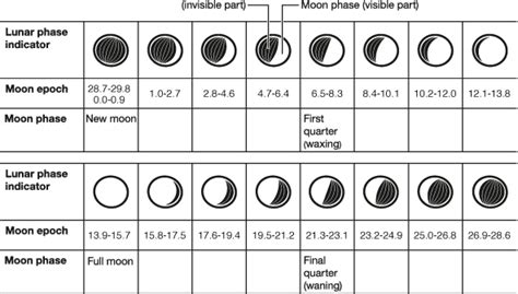 numbers and the in the moon books moon phase display technology watches products casio