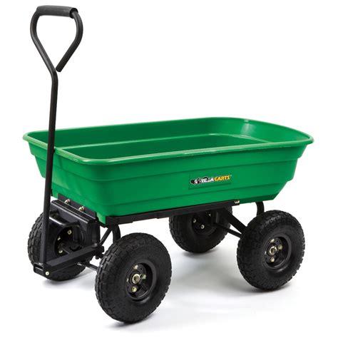 shop duraworx plastic yard cart at lowes