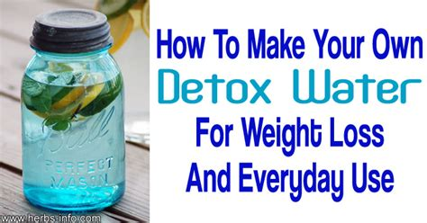 Detox Water How To Use by How To Make An Amazing Quot Detox Water Quot Herbs Info