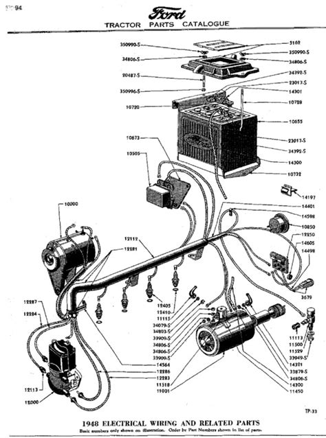 12 volt wiring diagram for ford 9n 12 volt wiring diagram