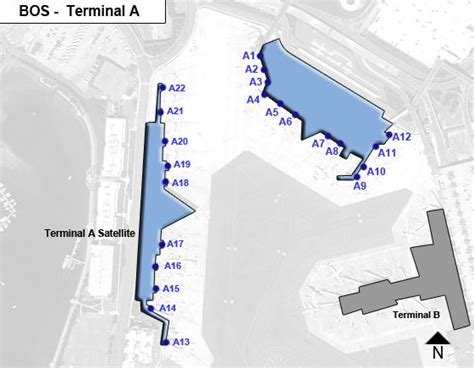 terminal b logan map boston logan airport bos terminal a map