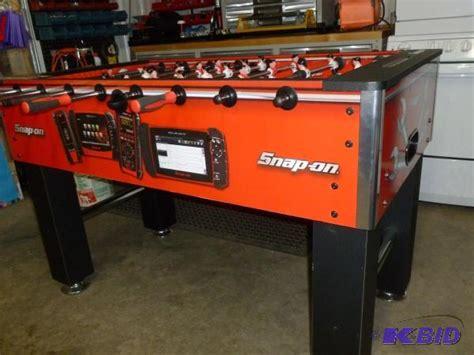 snap on foosball table snap on foosball table in condition sns