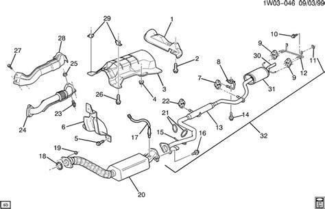 2001 chevy impala exhaust system diagram impala exhaust system diagram impala free engine image