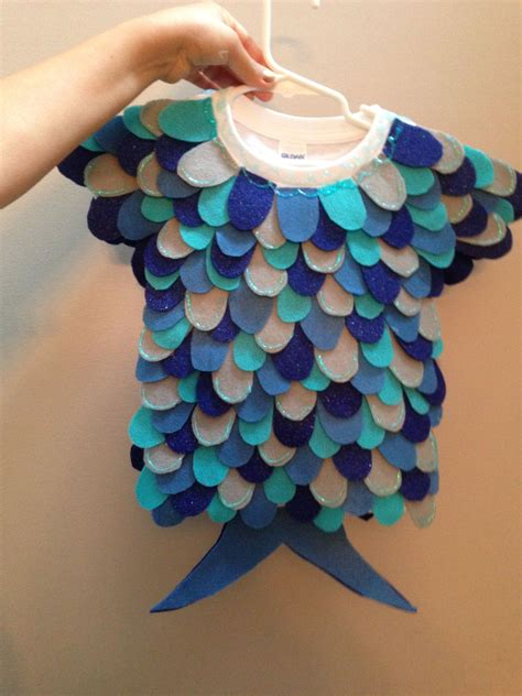 easy costume  toddlers  babys rainbow fish