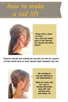pony tail lift new jersey easy hairstyle if you are running behind in the morning 2