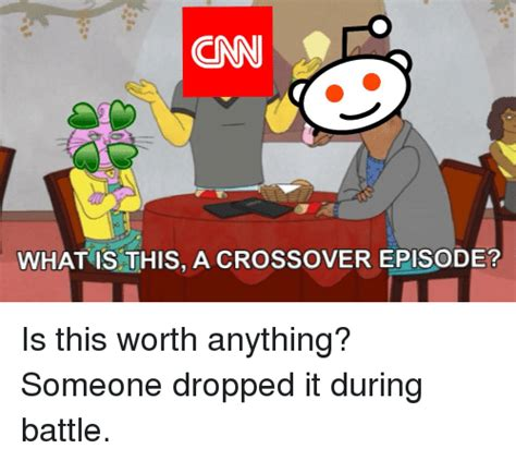 What Is This Meme - cnn what is this a crossover episode cnn com meme on