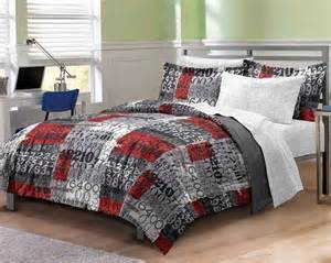 new number time boys bedding comforter sheet set twin twin xl