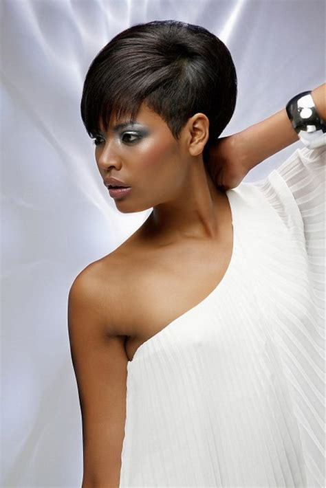 wedding bob hairstyles for black women fine hair layered pinterest african american short hairstyles for women