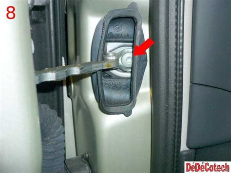 arret de porte voiture changer un arr 234 t de porte avant sur renault vel satis tuto