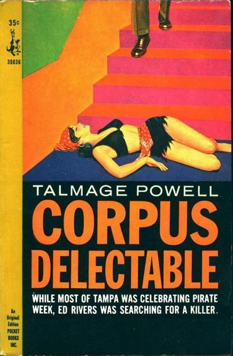 Corpus Delectable page 2 pulp covers