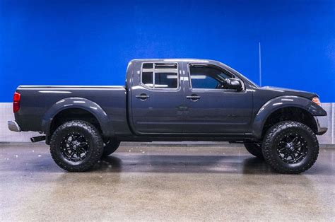 lifted nissan frontier for sale bad boy lifted gray 2010 nissan frontier 4x4 crew cab
