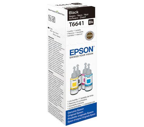 Toner Epson T6641 epson t6641 black ecotank ink bottle 70 ml deals pc world