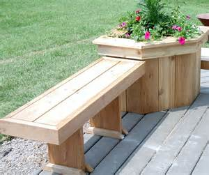 Railing Flower Boxes - benches amp flower boxes a 1 quality decks inc