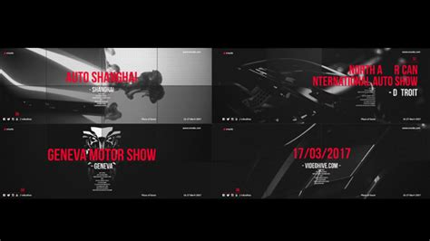 18 cool after effects templates for automotive design