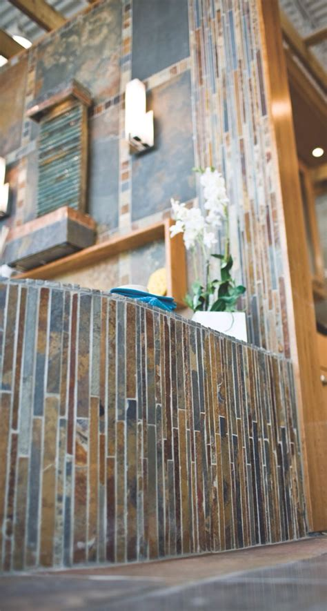 copper tiles bathroom the beautiful copper rust corinth mosaic slate tile
